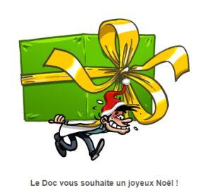Préparez vos cadeaux de Noël avec franchise Docteur Ordinateur !