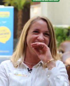 Sophie Goujon, franchisée Bureau Vallée à Saintes