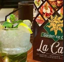 cocktail garden ice café