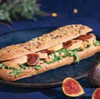 sandwich De Chef Festif foie gras