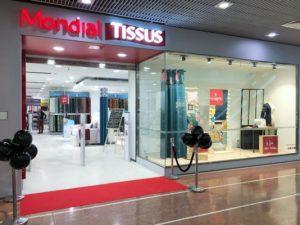 La franchise Mondial Tissus poursuit son développement