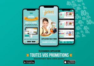 Application mobile Franchise Ticket Promo