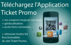 application mobile ticket promo