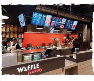 point de vente waffle factory