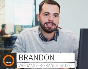 Brandon, VRP dans la Multi Franchise Plus que PRO