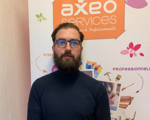 Cyril Rogiez, nouveau franchisé AXEO Services de Paris 17