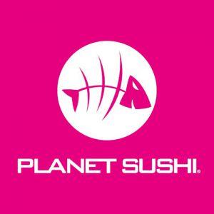 Logo Franchise Planet Sushi
