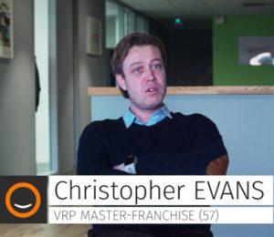 Christopher Evans VRP Master Franchisé 57