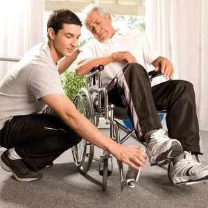 Distri Club Médical, fauteuil roulant, aide