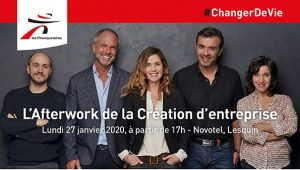 Afterwork de la création d'entreprise - groupement Les Mousquetaires