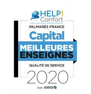 La franchise HELP Confort élue parmi les « Meilleures enseignes 2020 »