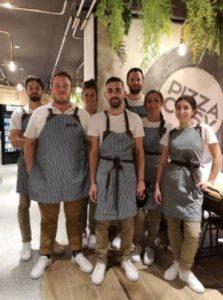 équipe pizza cosy