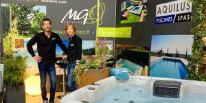 Equipe société MG Création - Franchise Aquilus Piscines et Spas