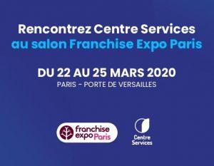 Centre Services au salon Franchise Expo Paris