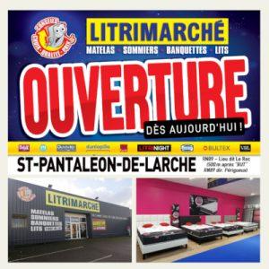 Une nouvelle franchise Litrimarché s'installe à Saint-Pantaléon-de-Larche