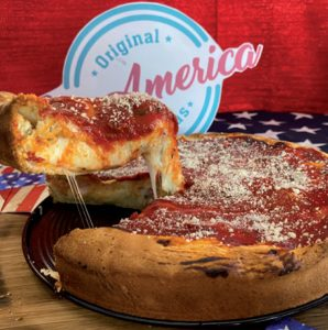 """Les pizzas américaines de LovAmerica """"La Boite à Pizza Market"""""""