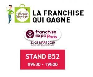 Les Menus Services à Franchise Expo Paris