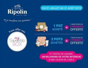 My Sweetie Box partenariat avec Ripolin et Leroy Merlin Juillet Août 2019 - L'Onglerie