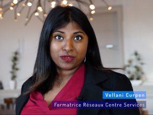 Vellani Curpen, formatrice réseau Centre Services