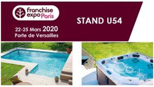 Aquilus Piscines et Spas au Salon Franchise Expo stand U54