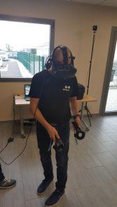Séminaire de la franchise Attila au Centre de Formation de Lyon - ateliers réalité virtuelle