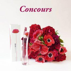 Conconurs Saint Valentin Au nom de la rose et KENZO Parfums