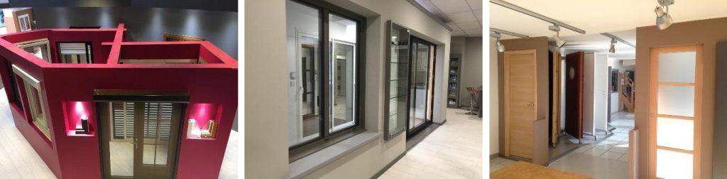Intérieur showroom Caséo