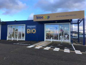 Magasin Biocoop Lempdes façade
