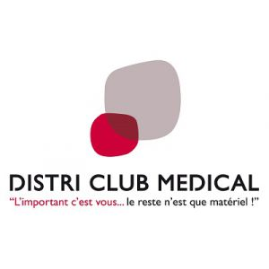 Logo Franchise Distri Club Médical
