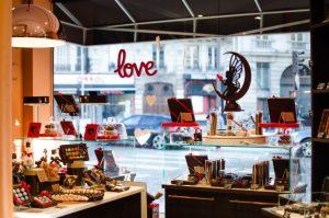 Boutique Yves Thuriès décoration Saint Valentin