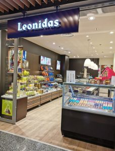 Magasin Leonidas Centre Commercial Carrefour Nice TNL