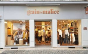 façade magasin Grain de Malice