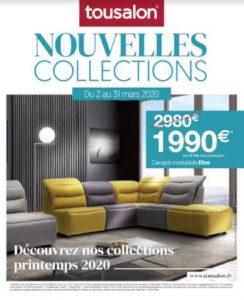Nouvelles collections Tousalon