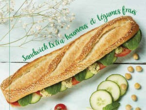 sandwich houmous