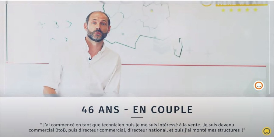 Emmanuel Dubuisson, licencié de marque Plus que PRO Yvelines