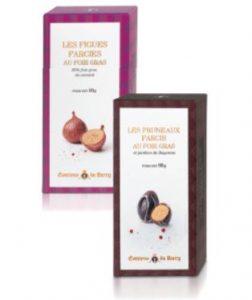Une sélection de fruits farcis au foie gras. Comtesse du Barry