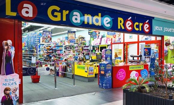 La Grande Récré encourage la fabrication et la création française de jouets