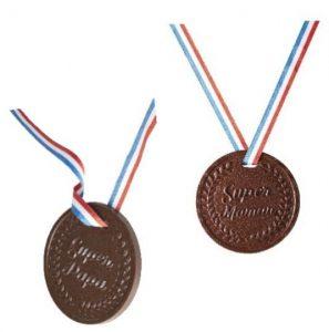 RÉAUTÉ CHOCOLAT célèbre les parents avec des médailles gourmandes