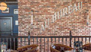 décoration restaurant Au Bureau