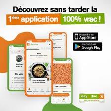 La franchise day by day lance la 1ère application gratuite 100% vrac
