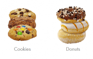 Produits Miss Cookies Coffee