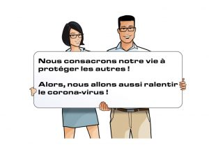 ralentir coronavirus diagamter