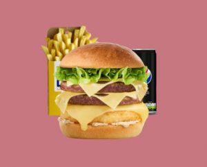 Menu Speed Burger