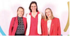 Delphine Carpier et son équipe