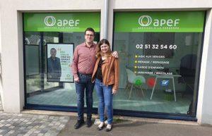 L'agence Apef des Sables d'Olonne ouvre ses portes