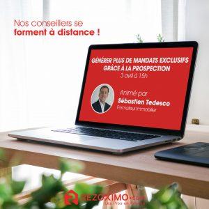 Rezoximo formera tous ses conseillers à l'expertise immobilière dès 2021