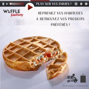 Waffle Factory met play sur vos envies