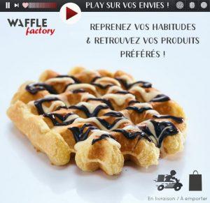 La franchise Waffle Factory annonce la réouverture de certains restaurants