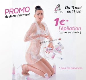 offre promotionnelle de déconfinement Body' Minute