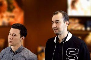 David & Benjamin, de la boutique Leonidas Sartrouville